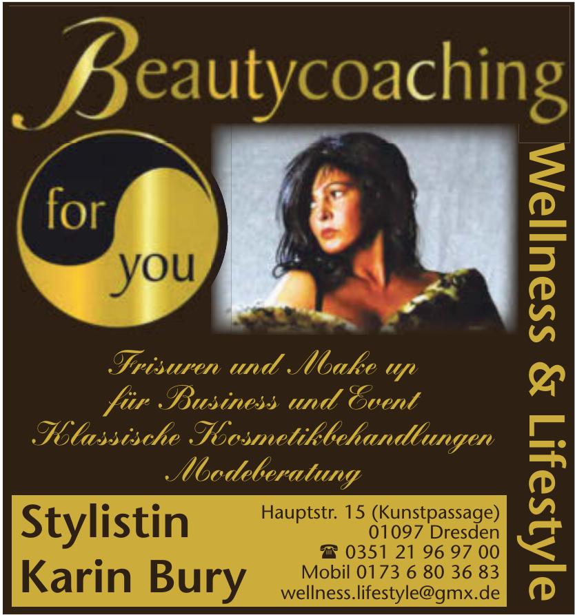 Stylistin Karin Bury