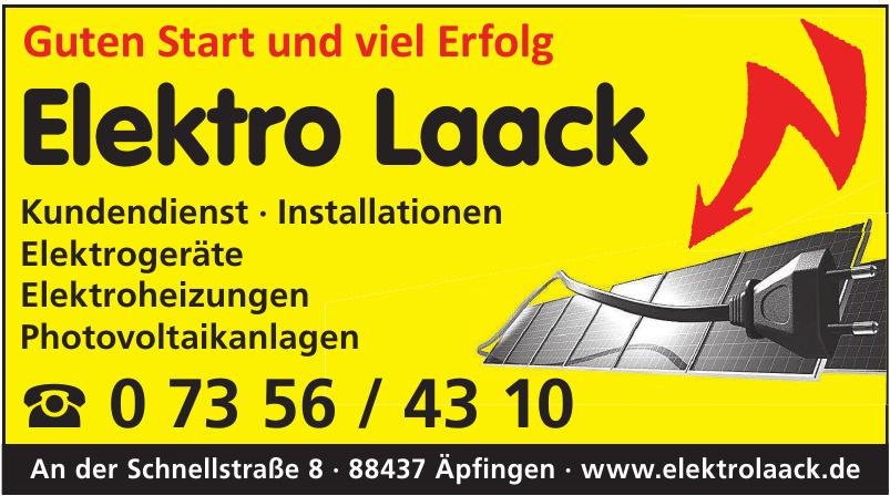 Elektro Laack