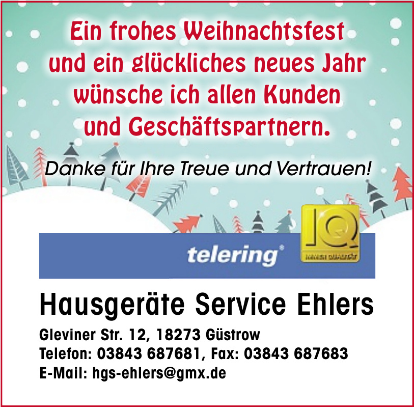 Hausgeräte Service Ehlers
