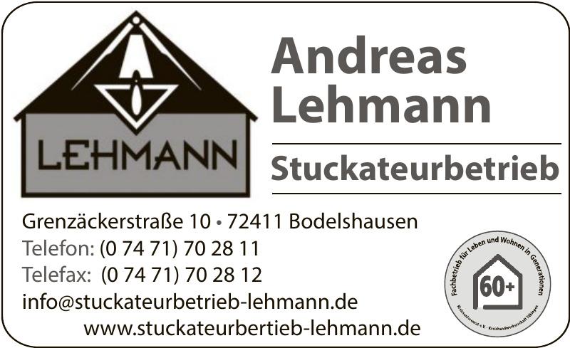 Andreas Lehmann Stuckateurbetrieb