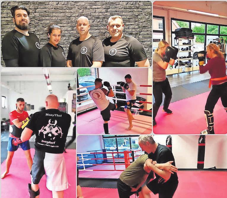 Das MuayThai Gym Burgdorf präsentiert am Sonntag Kampfsport und Selbstverteidigungstechniken.
