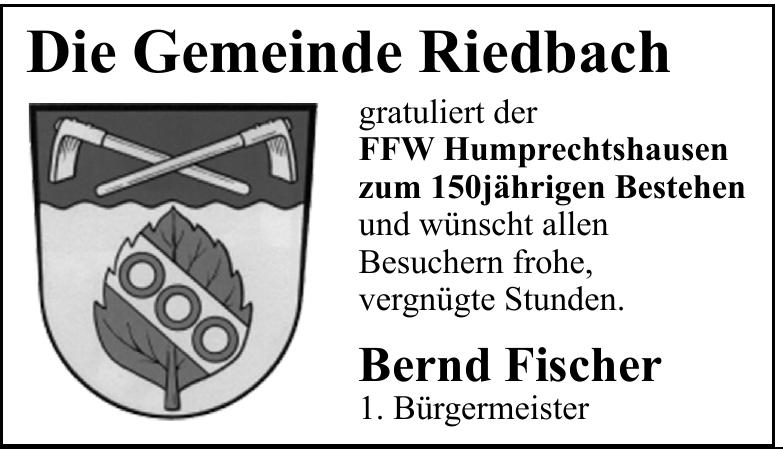 Gemeinde Riedbach