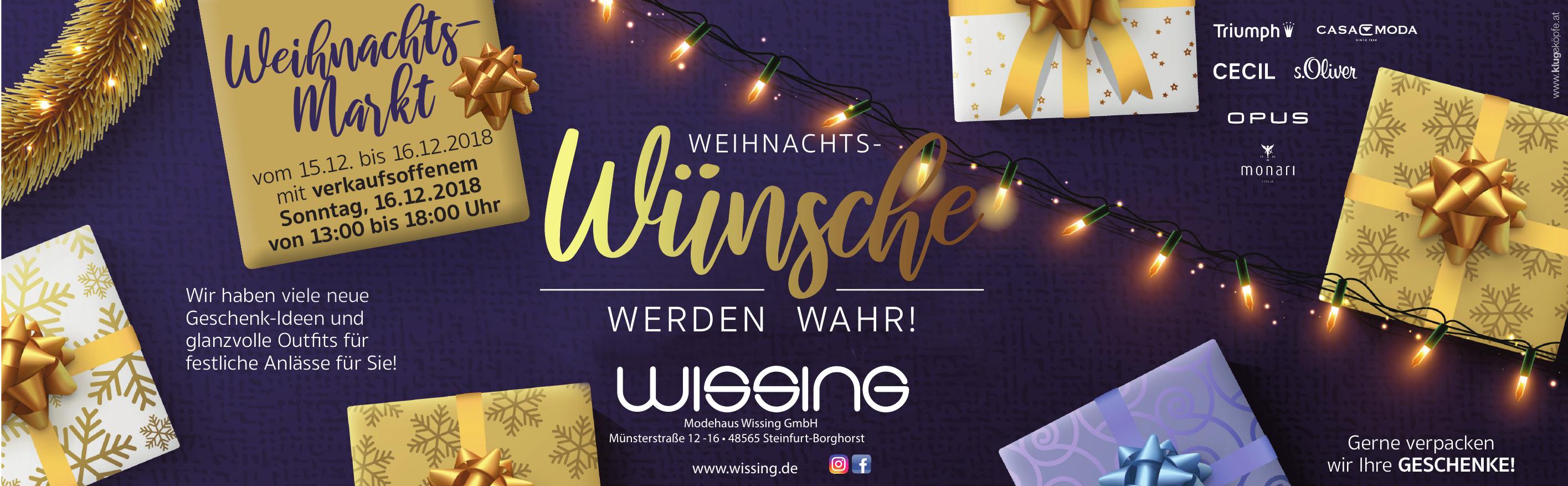 Modehaus Wissing GmbH