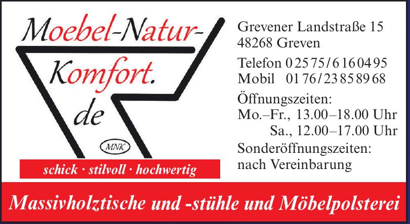 Möbel-Natur-Komfort