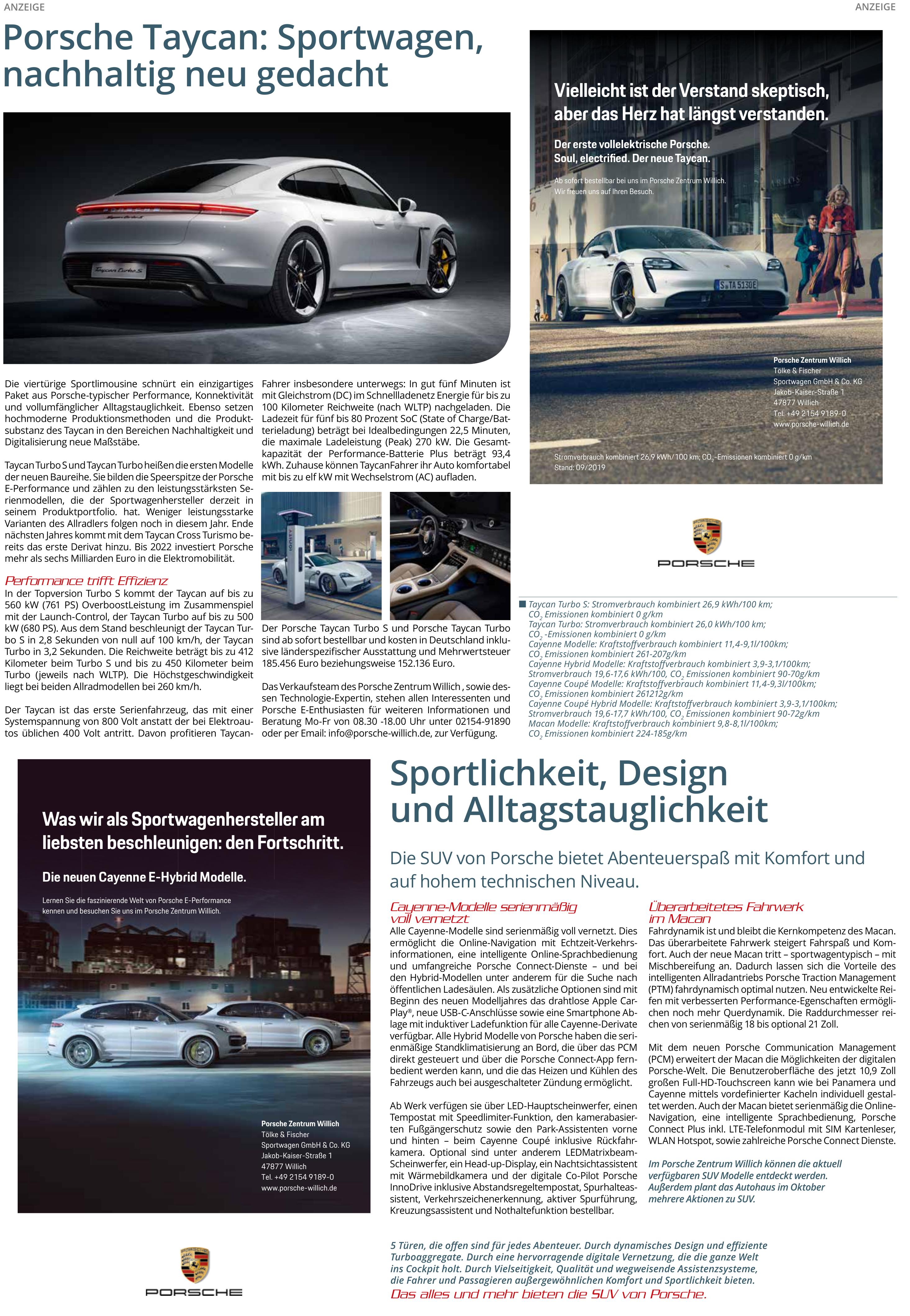Porsche Zentrum Willich Tölke & Fischer Sportwagen GmbH & Co. KG