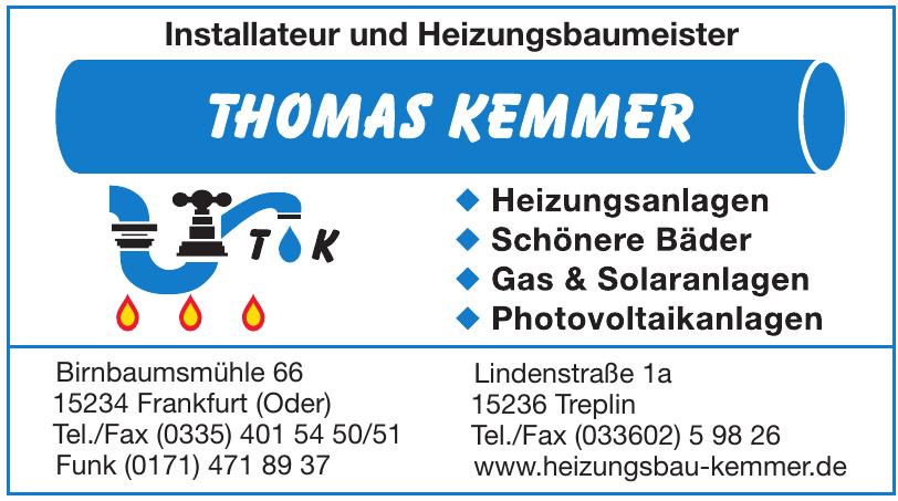 Thomas Kemmer