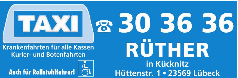 Taxi Rüther