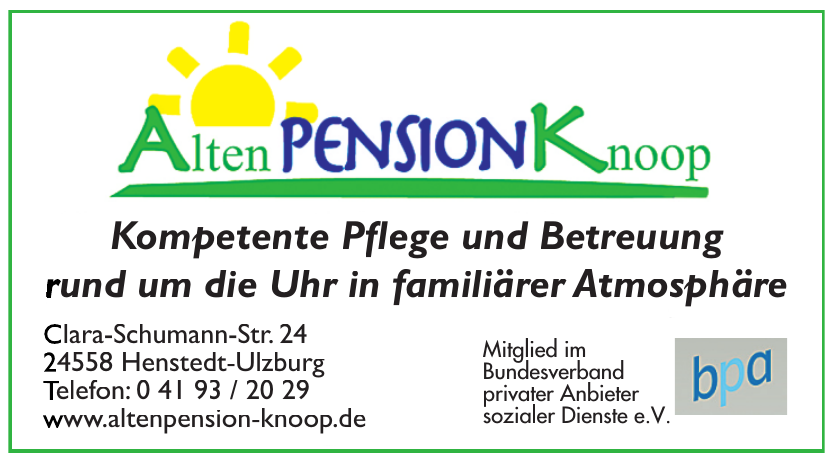 Alten Pension Knoop