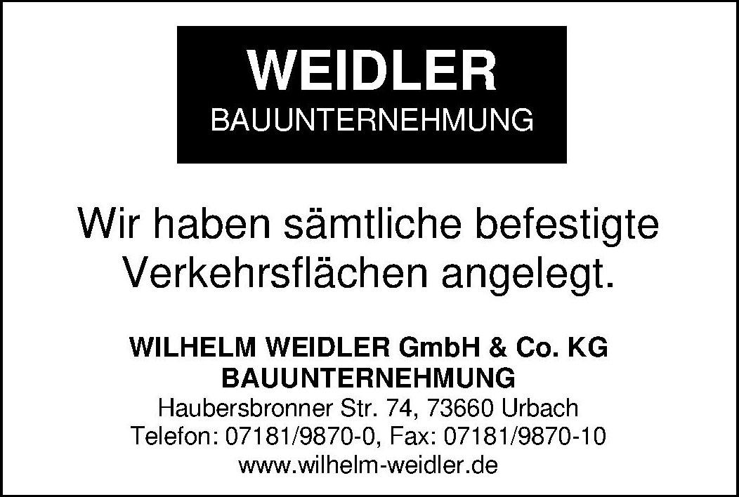 Wilhelm Weidler GmbH & Co. KG