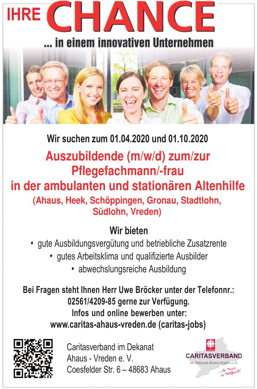 Caritasverband für die Dekanate Ahaus und Vreden e.V.