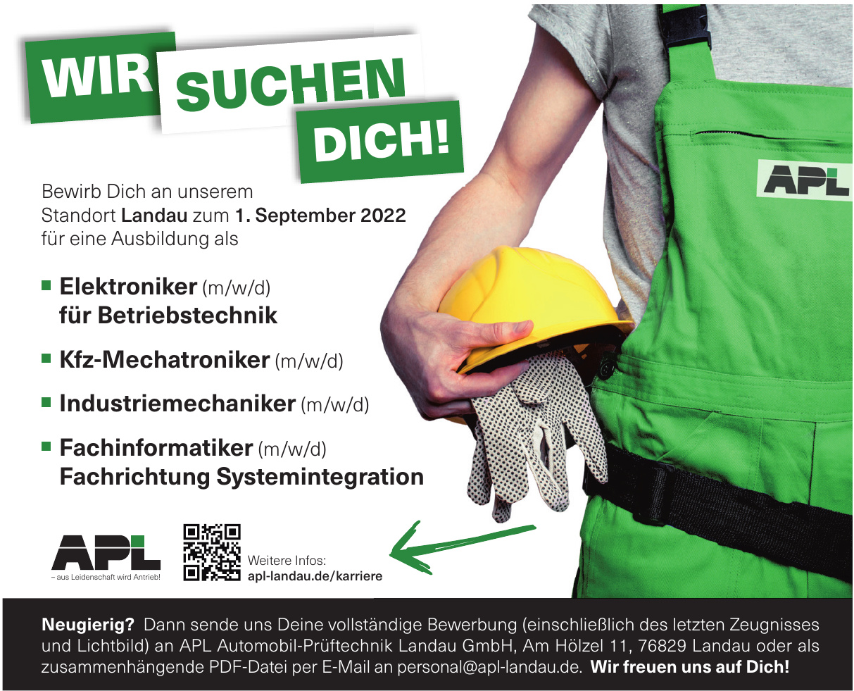 APL Automobil-Prüftechnik Landau GmbH