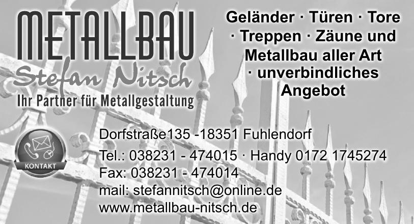 Metallbau Stefan Nitsch
