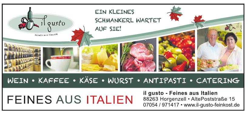 il gusto - Feines aus Italien