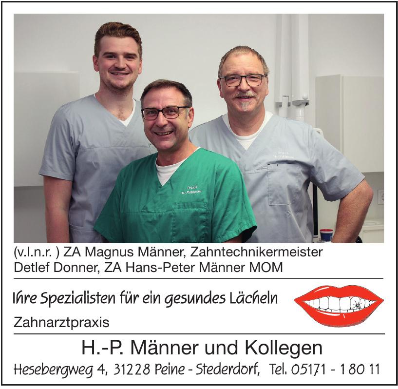 Zahnarztpraxis H.-P. Männer und Kollegen