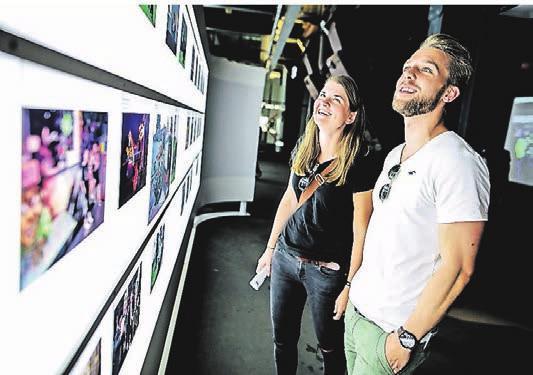 Sehen und staunen: Die Ausstellungen sind beeindruckend. Foto: Sven Lorenz
