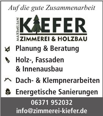 Zimmerei Kiefer