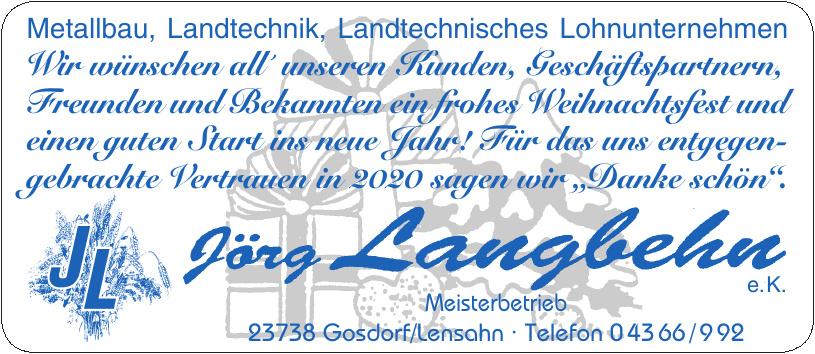 Jörg Langbehn e.K.
