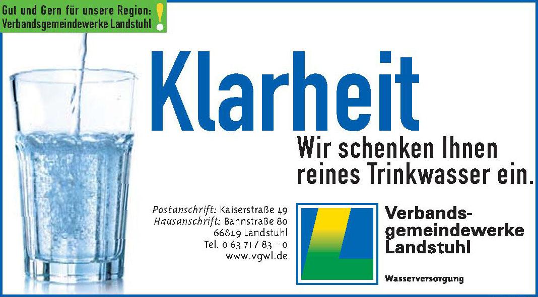 Klarheit Verbandsgemeindewerke Landstuhl