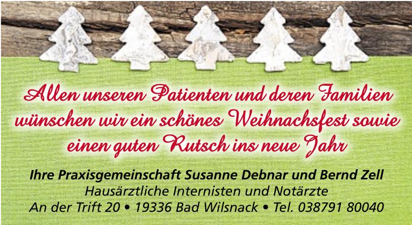 Praxisgemeinschaft Susanne Debnar und Bernd Zell