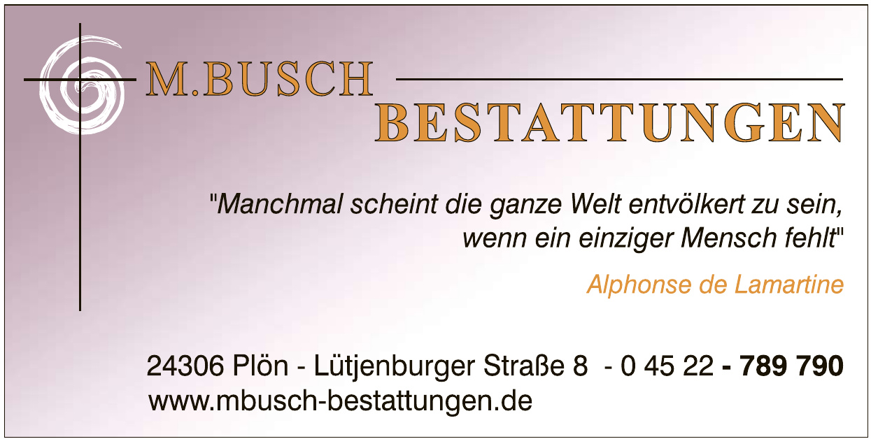 M. Busch Bestattungen
