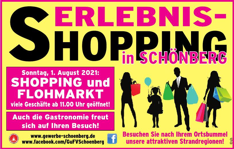 Erlebnis - Schopping in Schönberg