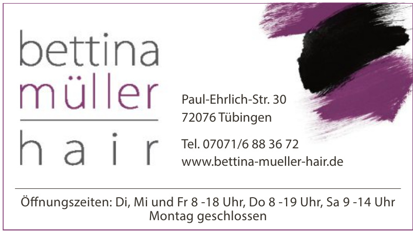 Bettina Müller Hair