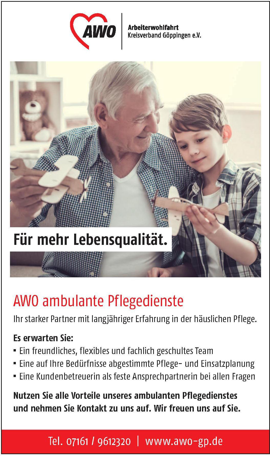 AWO Kreisverband Göppingen e.V.