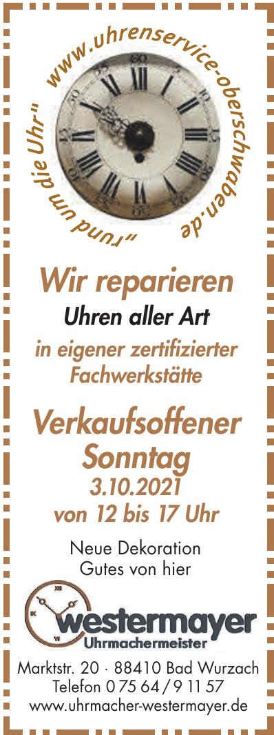 Uhren-Schmuck M. Westermayer