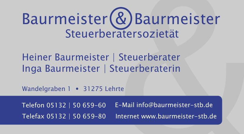 Baurmeister & Baurmeister Steuerberatersozietät