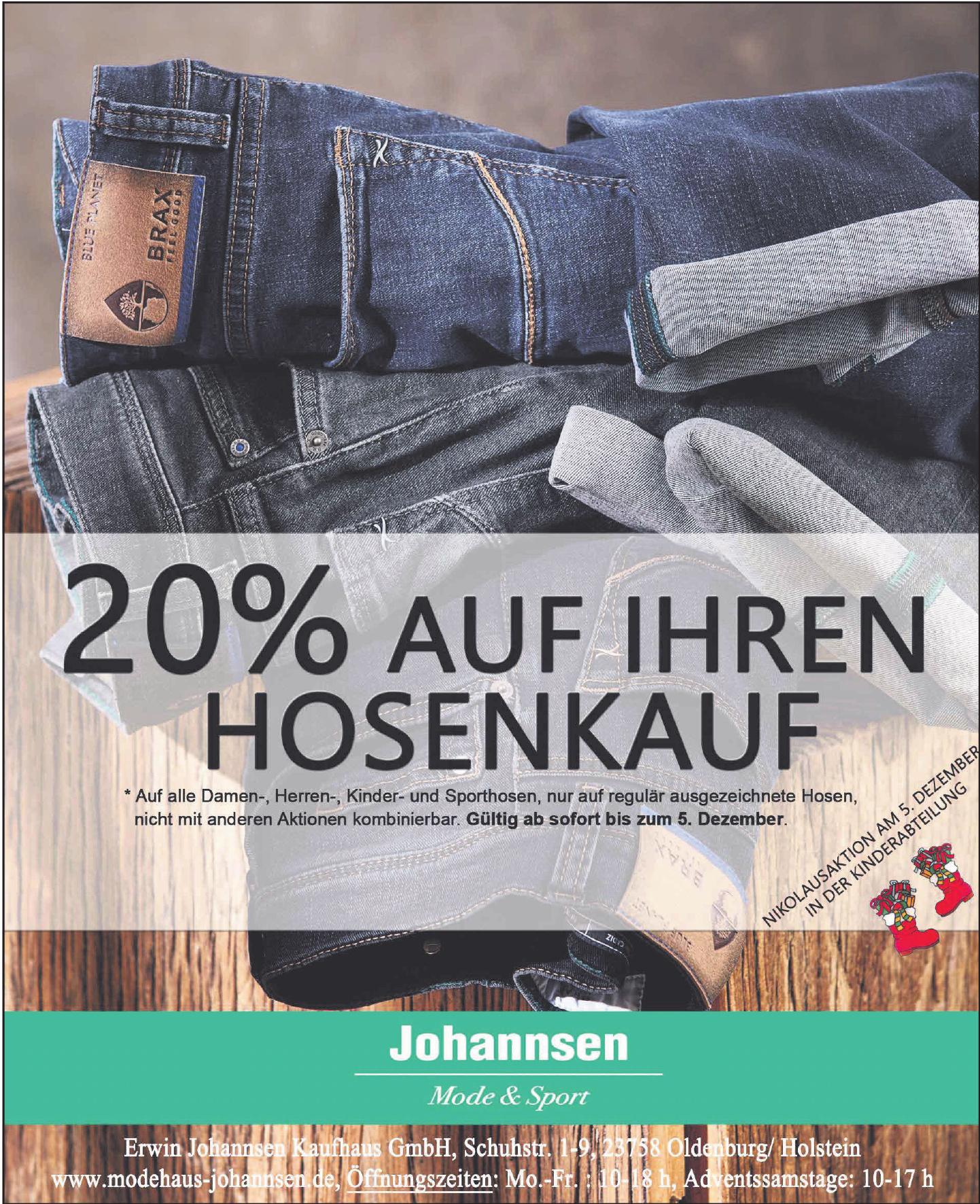 Erwin Johannsen Kaufhaus GmbH