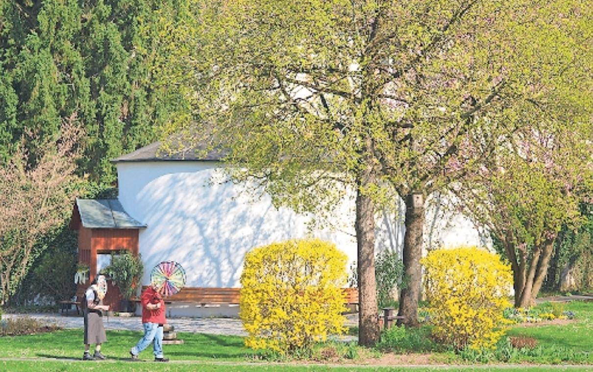 Der Klostergarten ist eine Oase der Ruhe und auch jederzeit für die Öffentlichkeit zugänglich. Am Sonntag gibt es um 14 und um 16.30 Uhr Führungen durch die Anlage. Foto: Klaus Trenz