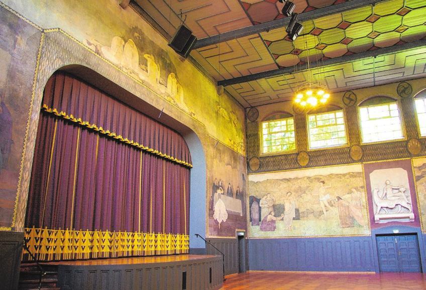 Sie sind ein Jugendstil-Kleinod und sollen saniert werden: die Pfullinger Hallen, seit 1907 wichtiger Veranstaltungsort.