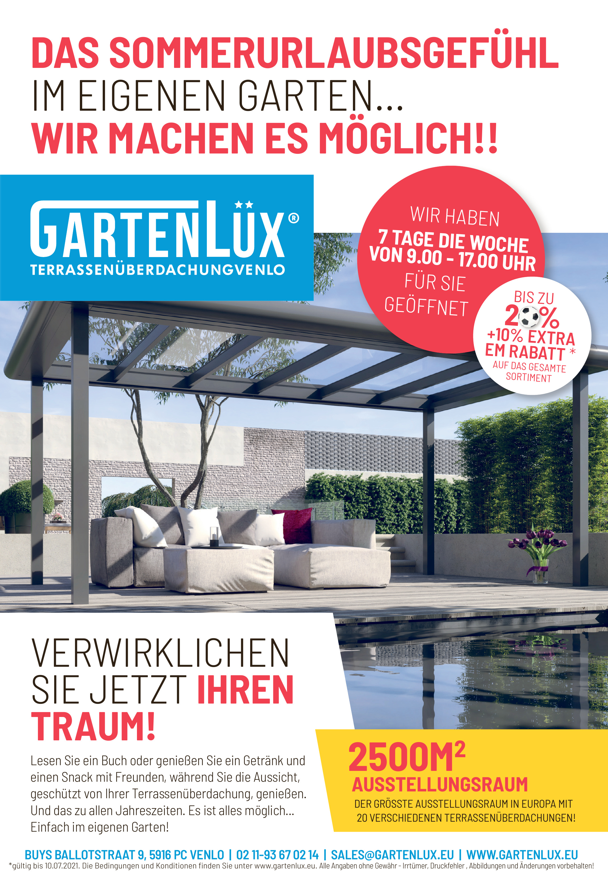 GartenLüx - Terrassenüberdachungvenlo