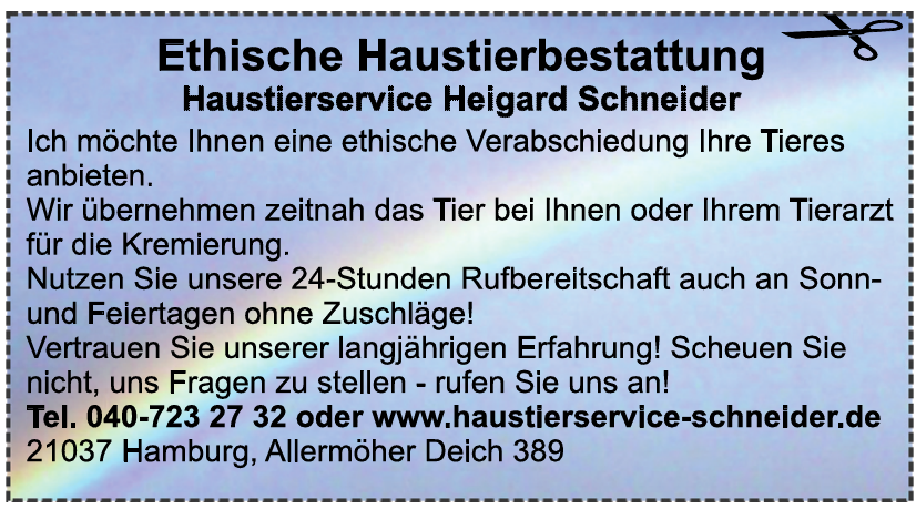Haustierservice Schneider