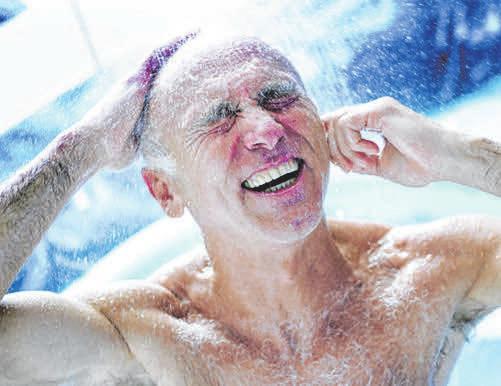 Durch Wärmerückgewinnung lässt sich die Energie beim Duschen auffangen und erneut nutzen. FOTOS: DJD/DKI