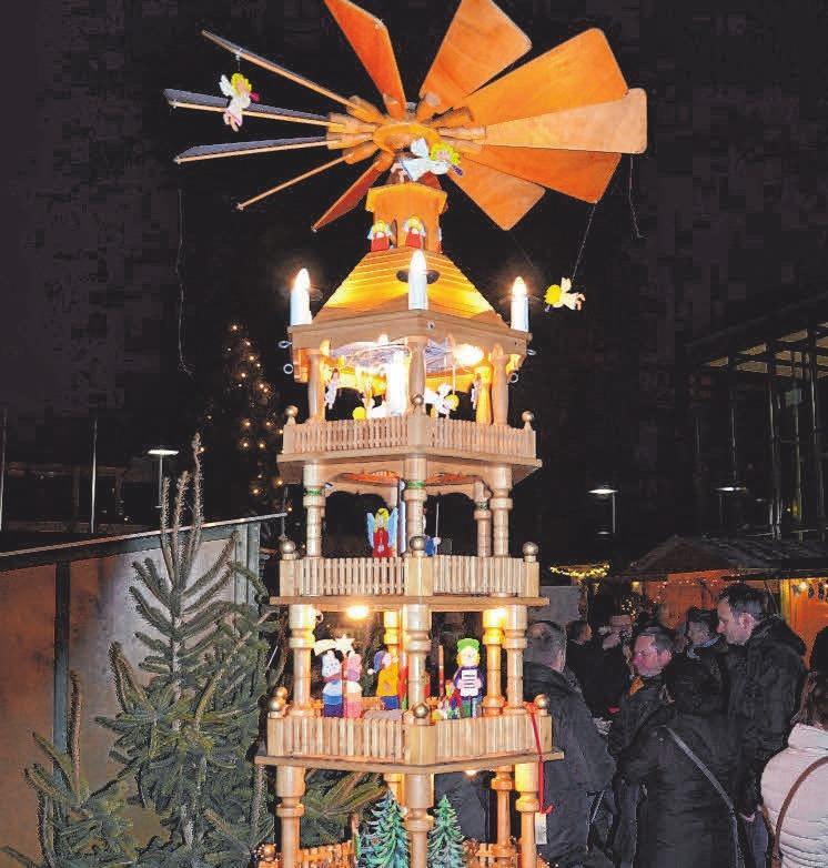 Die Weihnachtspyramide.