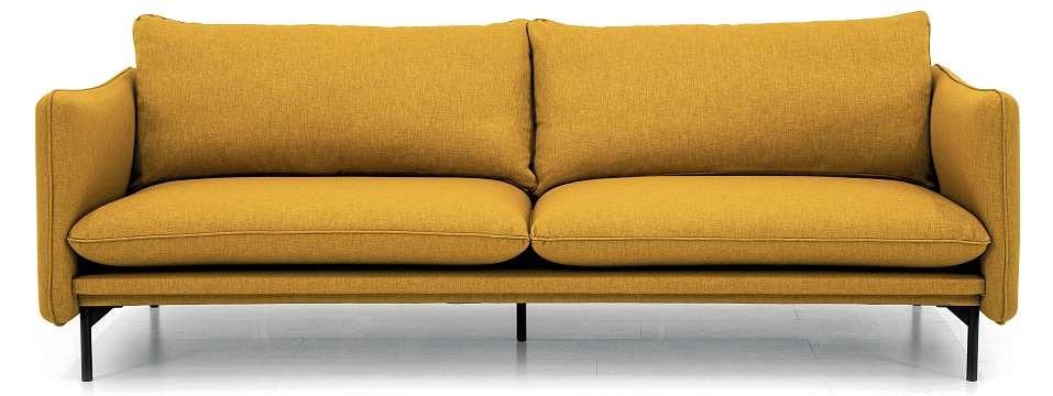 """Sofa """"SUNY"""" lässt sich dank vieler Bezüge optimal in fast jeden Raum einbinden. FOTO: HFR"""