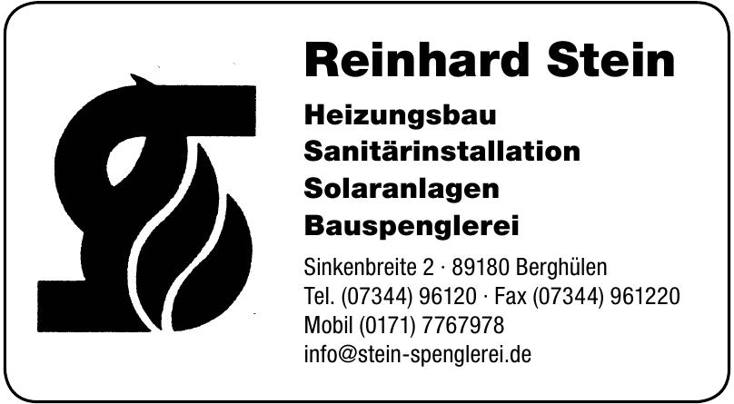 Reinhard Stein