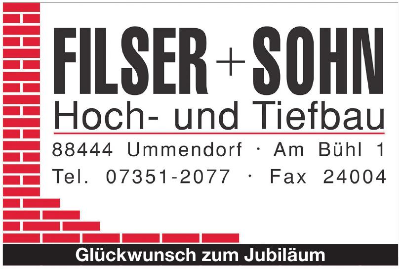 Filser + Sohn Hoch- und Tiefbau