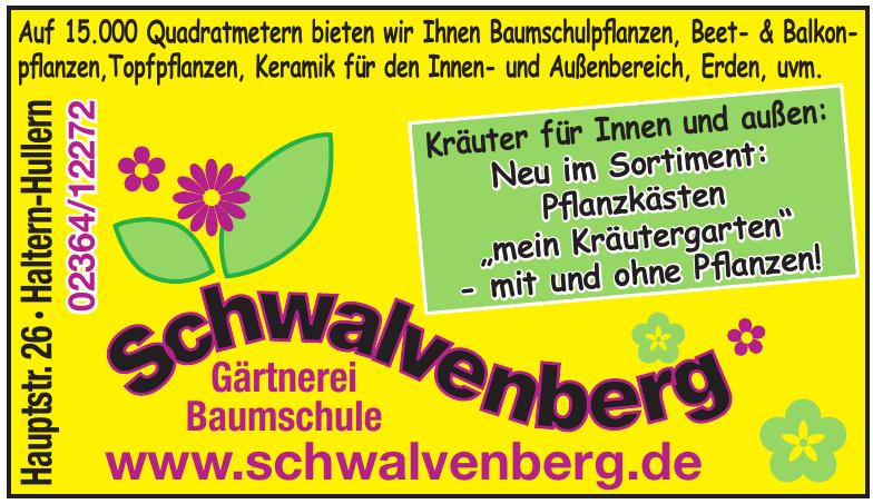 Schwalvenberg Gärtnerei Baumschule