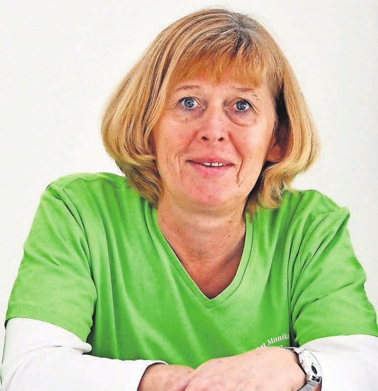 Monika Jansen weiß, wie wichtig eine ausgewogene Ernährung für ihre Kunden im Seniorenalter ist.