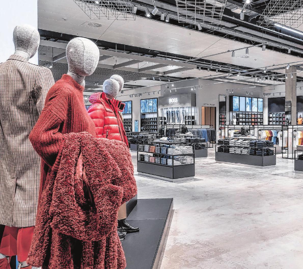 Hochwertige Mode, Accessoires und vieles mehr: Hier ist man eingeladen, die Markenwelten von Boss zu entdecken.
