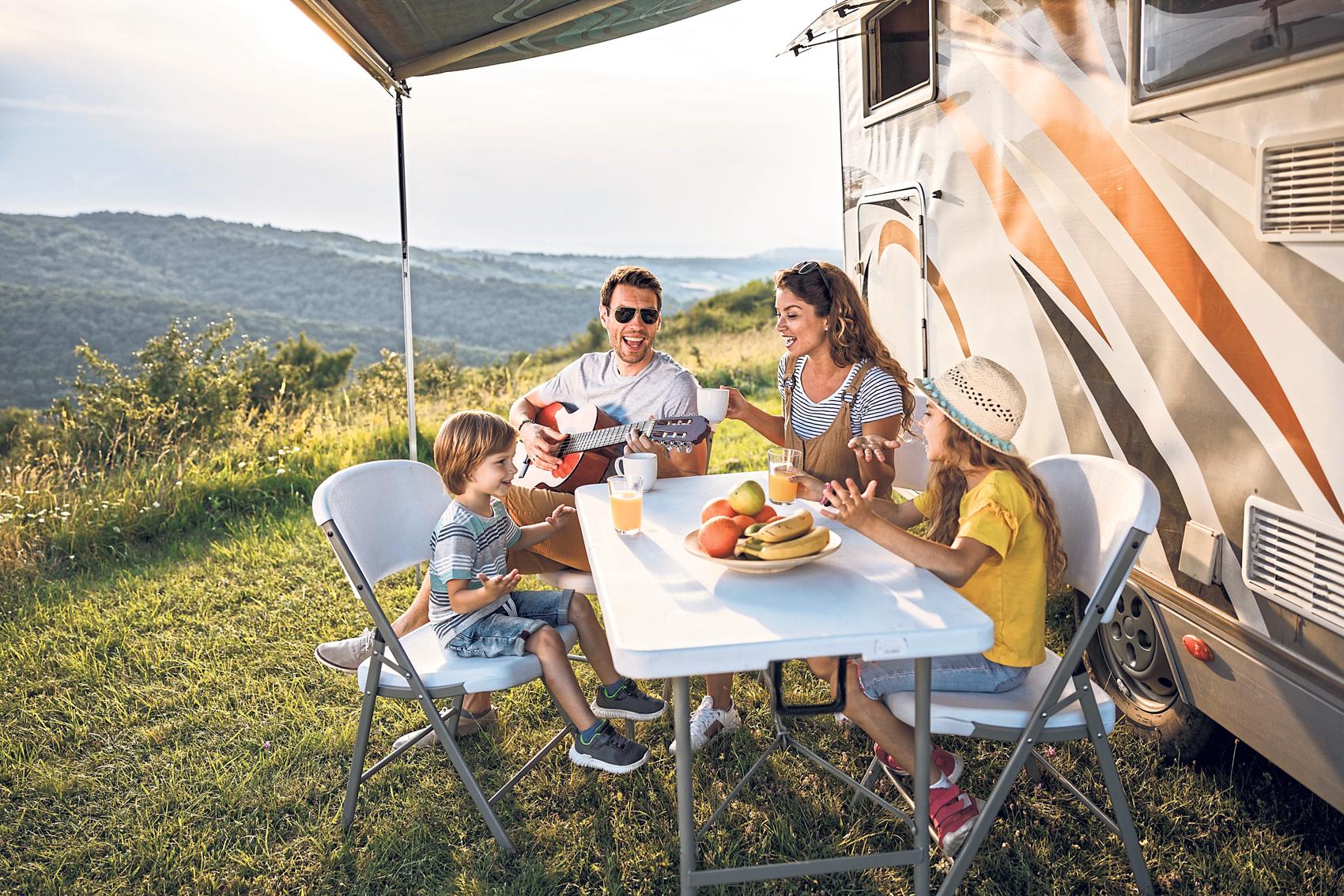 Caravan, Camping, Outdoor