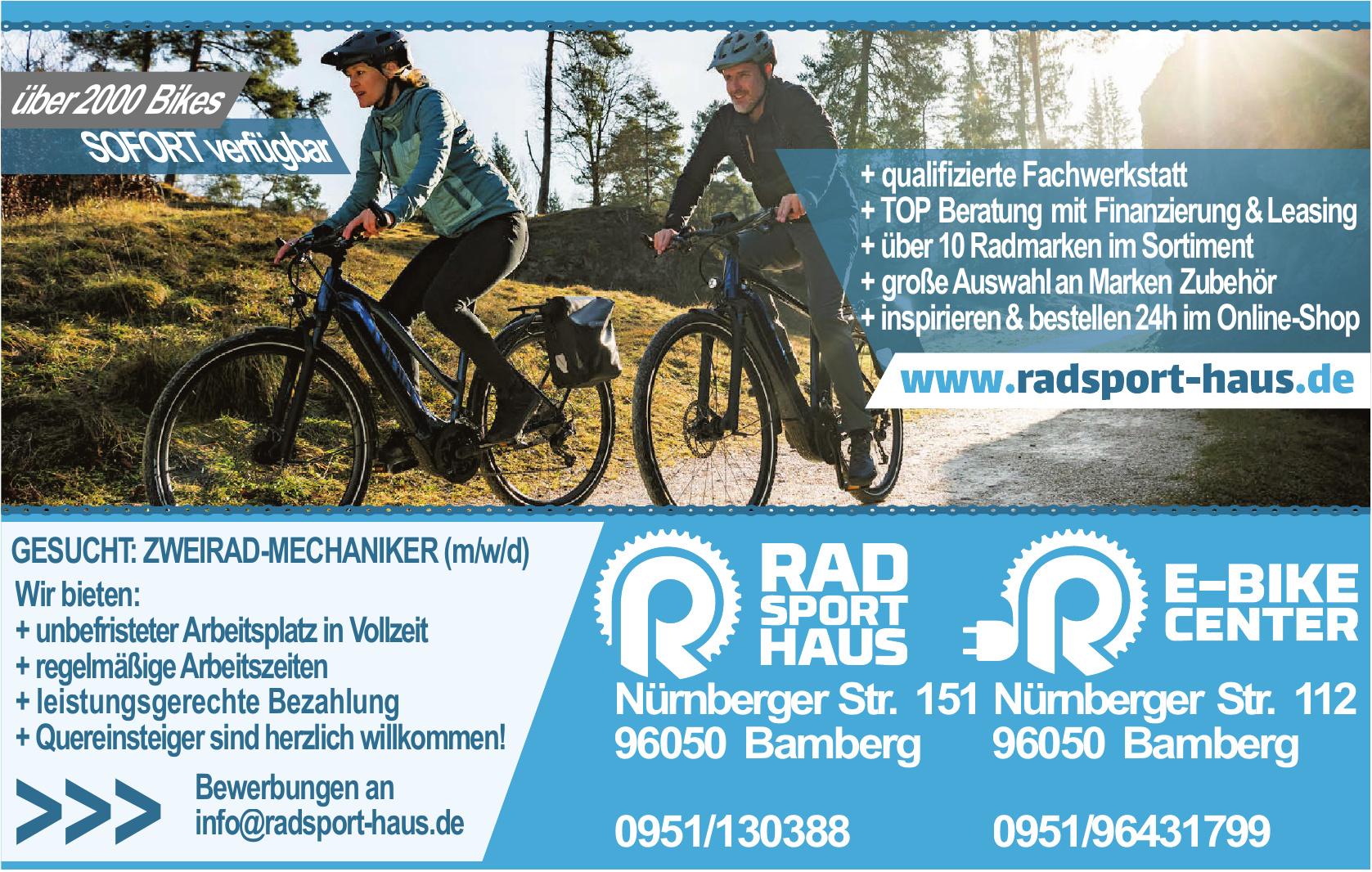 Radsport-Haus