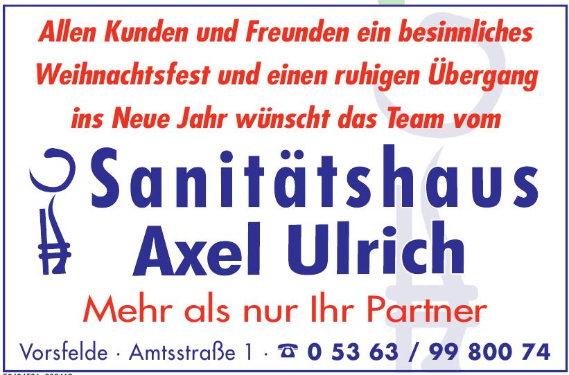 Sanitätshaus Axel Ulrich