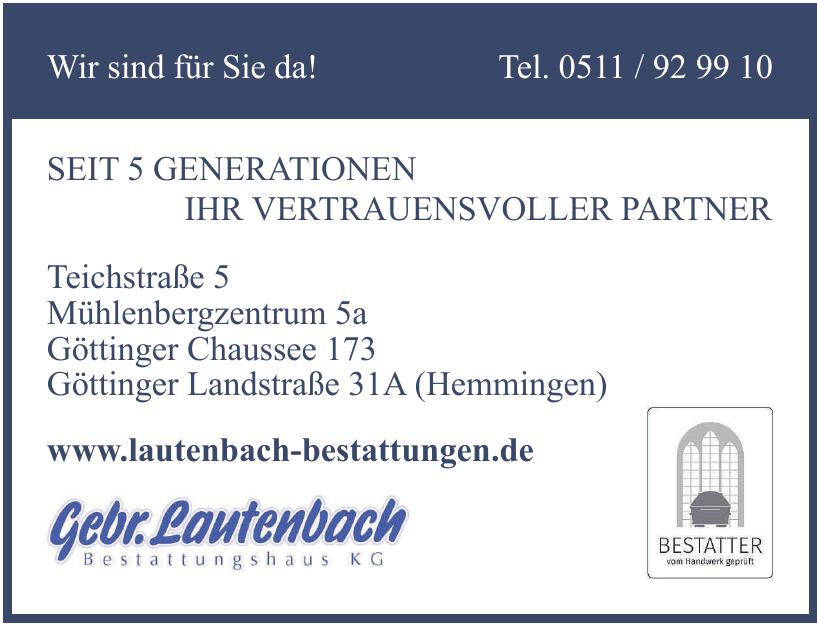 Lautenbach  Bestattungshaus