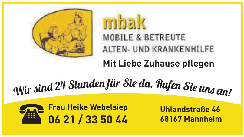 mbak - Frau Heike Webelsiep