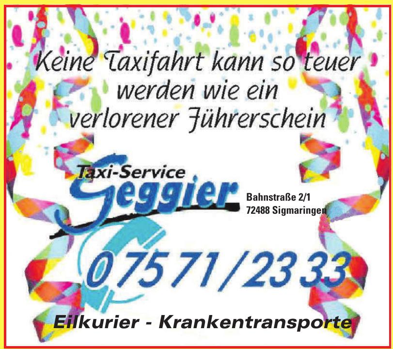 Taxi-Service Geggier