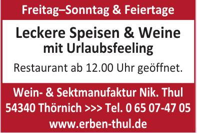 Wein- & Sektmanufaktur Nik. Thul