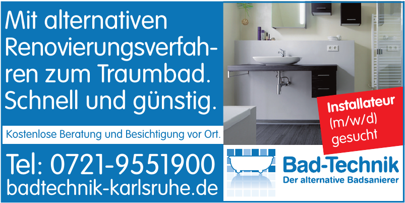 Bad-Technik Karlsruhe